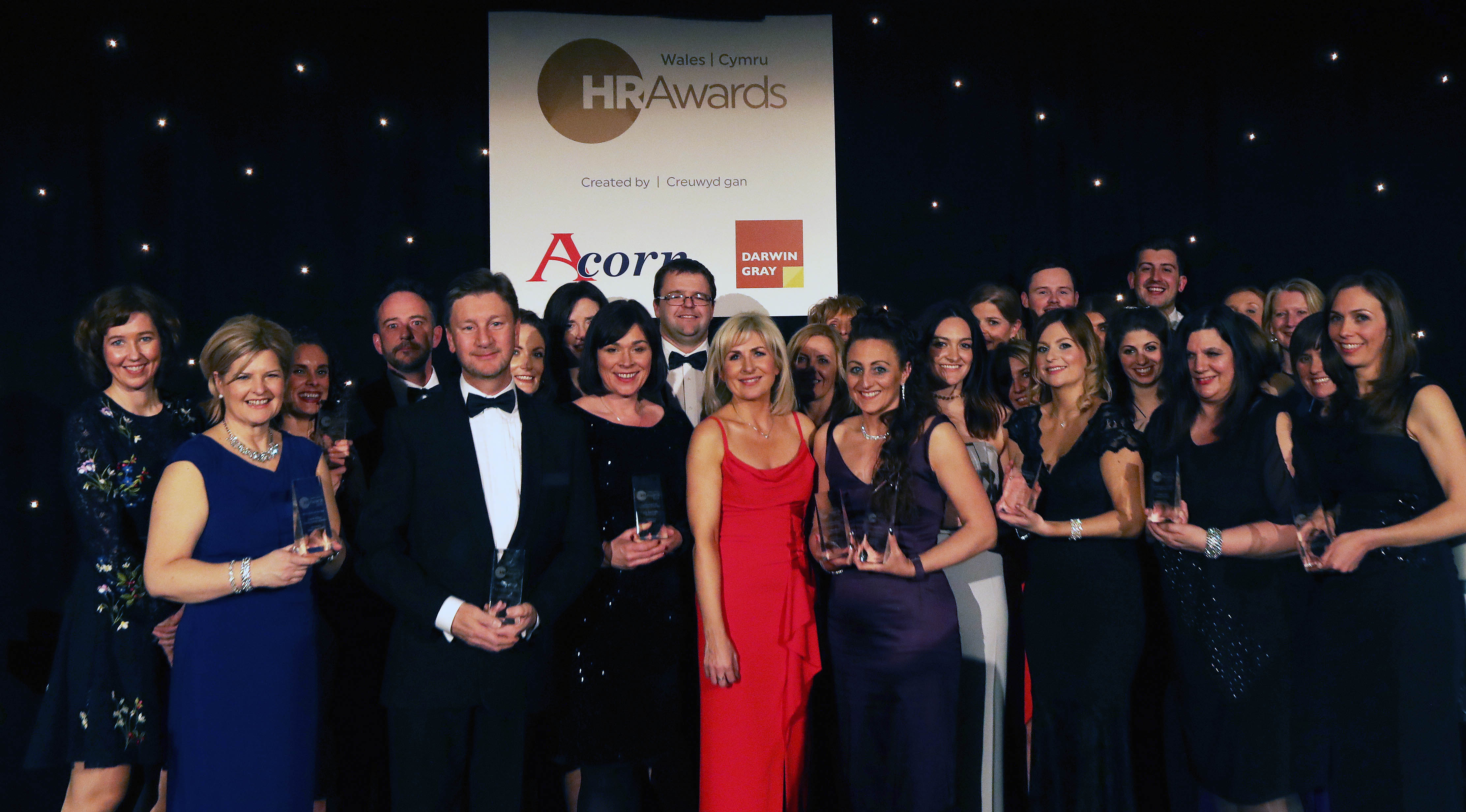 Wales HR Awards 2018 winners with host Sian Lloyd (1).JPG